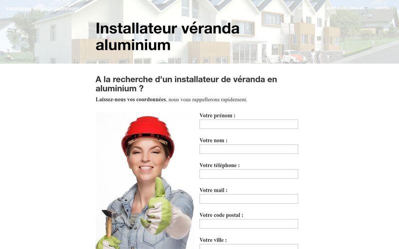 Obtenir un devis de la part d'un installateur véranda en aluminium